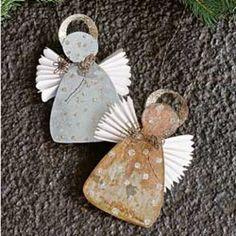 Sparkling Angel Ornaments - Ornaments - Christmas - Seasonal