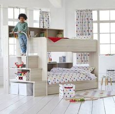 bunk beds with stairs - Google Search