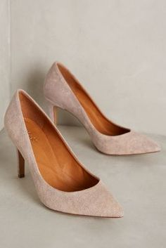 Miss Albright Tinsley Pumps #anthrofave