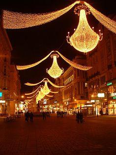 """Vienna 13"" by hum902 on Flickr - Christmas decorations, Vienna, Austria"