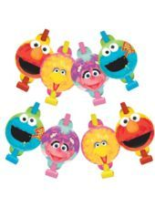 Sesame Street 1st Birthday Blowouts 8ct-Party City
