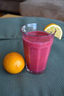 Growing Up Veg: Raspberry Lemonade Smoothie for your Vegan Valentine