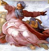 Image of God by Michelangelo Sistine Cieling