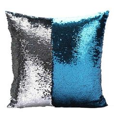 Factory selling two tone sequins throw pillow covers continental mermaid decorative pillow cushion cases sofa car DIY case Decorative Pillow Cases, Throw Pillow Cases, Decorative Cushions, Throw Pillows, Sequin Cushion, Sequin Pillow, Diy Pillows, Cushions On Sofa, Sofa Bed