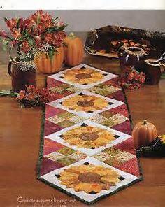 sunflower quilt table runner - Bing Images