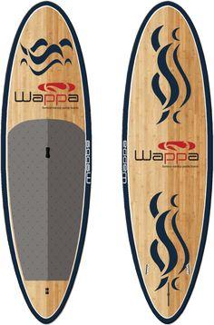 Wappa SUP - Olas www.wappanorway.com - Bambus Stand Up Paddleboard (SUP) - www.wappa.no