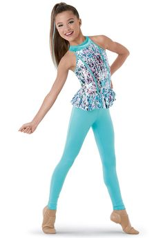 Jazz dance costume for I'm Feeling Good- Recital 2016 Cute Dance Costumes, Tap Costumes, Ballet Costumes, Dance Picture Poses, Dance Poses, Dance Outfits, Cute Outfits, Foto Sport, Ropa Hip Hop