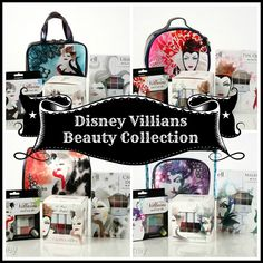 Disney Villains Beauty Collection. Only available at your local Walgreens for a limited time.