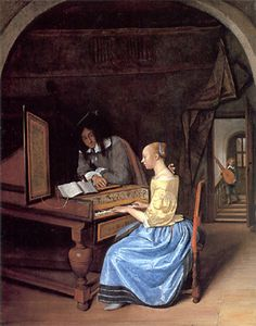 Jan Steen Acta Virum Probant (Actions Prove the Man) 1659l The National Gallery, London