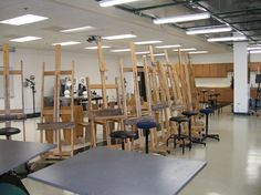 Figure drawing/painting area