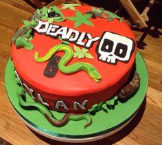 Deadly 60 Cake