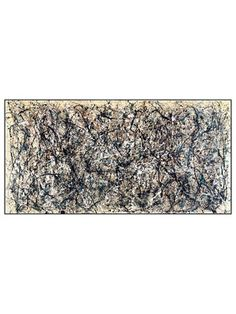 One, Number 31 by Jackson Pollock by McGaw Graphics on Gilt Home