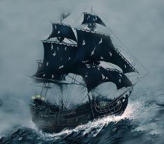 The Black Pearl by ~ecilARose on deviantART