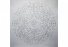 Dana Awartani, Within A Sphere 20 2014, Pen and Pencil on paper