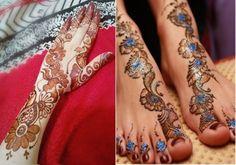 Punjabi Bridal Mehndi Designs For Hands Feet