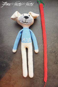 Amigurumi dog - crochet pattern free