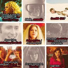 Doctor Who nicknames. They forgot Rory the Roman :(