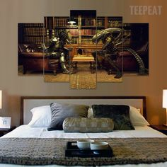 this amazing canvas print of diablo 3 is the perfect enhancement for
