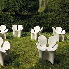 Sedia Poltroncina Per Esterni CLOVER Driade By Ron Arad   @driadeofficial