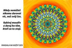 Mandala Daruj svůj čas moudře Outdoor Blanket, Motivation, Words, Psychology, Health, Horse, Inspiration
