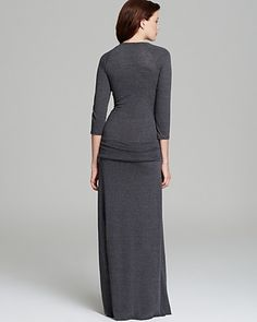 ALTERNATIVE Maxi Dress - Nickel Slit