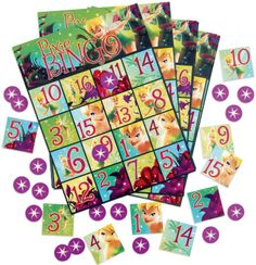 Are you having a Tinkerbell Birthday Party?  Get this Tinkerbell bingo game.