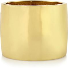 Kenneth Jay Lane Gold-plated cuff featuring polyvore, women's fashion, jewelry, bracelets, gold, polish jewelry, gold plated jewellery, kenneth jay lane jewelry, cuff bangle and cuff jewelry