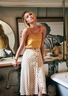 Kleidung Bohemian style outfits, boho clothing boutique Summer Wedding Dresses Unlike before when so Mode Outfits, Casual Outfits, Fashion Outfits, Winter Outfits, Summer Skirt Outfits, Midi Skirt Outfit, Flannel Outfits, Midi Skirts, Flowy Skirt