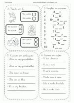 Prova de inglês para 1 ano do fundamental para imprimir - Blog Decor
