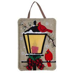 "FROSTY MAGIC SNOWMAN Star Cardinal 29/"" x 43/"" Christmas Holiday Large Banner Flag"