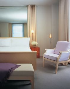 clift hotel SF has inspired my design more than any other one place #bedroom