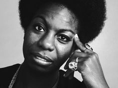 """""""I'll tell you what freedom is to me. No fear."""" - Nina Simone #BlackHistoryMonth"""