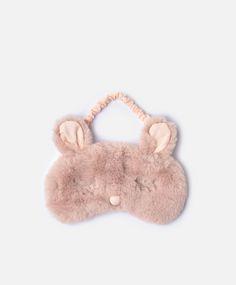 Маска для сна 'Кролик' розового цвета - Другое - Тенденции женcкой моды Осень-зима 2016 на Oysho онлайн: нижнее белье, спортивная одежда, пижамы, купальники, бикини, боди, ночные рубашки, аксессуары, обувь и аксессуары. Модели для каждой женщины!