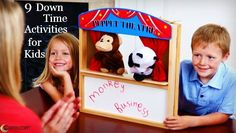 9 Down Time Activities for Kids