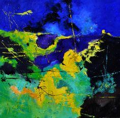 "Saatchi Art Artist: Pol Ledent; Oil 2014 Painting ""abstract 88411072"""