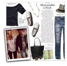 """""""The A&F Summer Getaway Giveaway: Contest Entry"""" by leinapacheco ❤ liked on Polyvore featuring Abercrombie & Fitch"""
