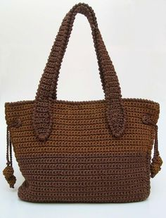 Discover thousands of images about Collection of Crochet Handbag Free Patterns: Crochet Tote Bags, Crochet Crochet Bags, Crochet Purses via Bag Crochet, Crochet Shell Stitch, Crochet Handbags, Crochet Purses, Crochet Stitches, Crochet Hooks, Crochet Patterns, Stitch Patterns, Knitting Patterns