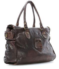Campomaggi Borchie Con Fiore Handbag