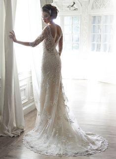 30 Swoon-worthy Lace Wedding Dresses!  #laceweddingdresses