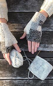 Log Cabin Mitts free pattern from Fringe Association Stitch Patterns, Knitting Patterns, Sewing Patterns, Crochet Patterns, Knitting Ideas, Finger Knitting, Free Knitting, Pink Beanies, Fingerless Mitts