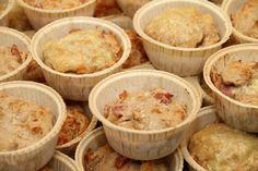 My Little Kitchen: Grove ost- og skinkemuffins Little Kitchen, Muffins, Lunch Box, Favorite Recipes, Breakfast, Ethnic Recipes, Desserts, Lunchbox Ideas, Morning Coffee