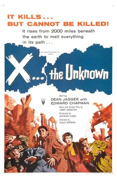 X... the Unknown (1956)