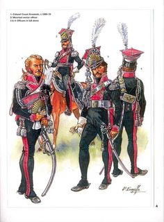 Polish Lancers of the Garde Imperiale. French, First Empire.