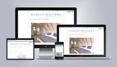 Local Architect Andrew Williams, asked us to design a responsive website with images that would render in high quality on 'Retina' displays. The site was designed with a simple layout that offered clean lines and clarity so that the visitor could easily navigate around the website to obtain an overview of the professional standard, style and quality of work provided by Andrew. www.andywilliamsarchitect.co.uk