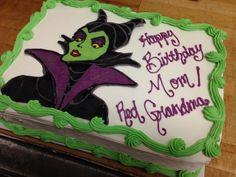 Maleficent Cake