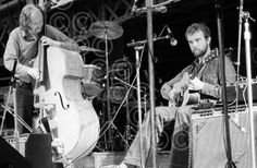 John Martyn my favourite musician of all time since I was 15, pictured here with Danny 'the snake' Thompson.