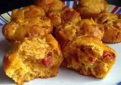 Muffins au chorizo au thermomix
