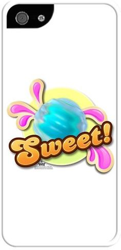 Candy Crush - Badge Sweet Bubble - Kendin Tasarla - İphone 5/5S Kılıfları