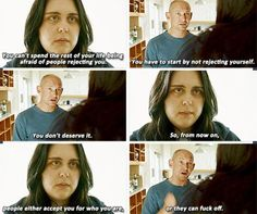 My mad fat diary - strong life advise