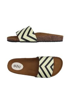 Paris Women Sandals on YOOX. The best online selection of Sandals Paris. YOOX exclusive items of Italian and international designers - Secure payments Shoes Sandals, Footwear, Sandals Online, Yellow, Romania, Paris, Products, Fashion, Women Sandals